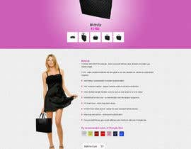 #15 para Website Design for Women's Tote Bags por tania06