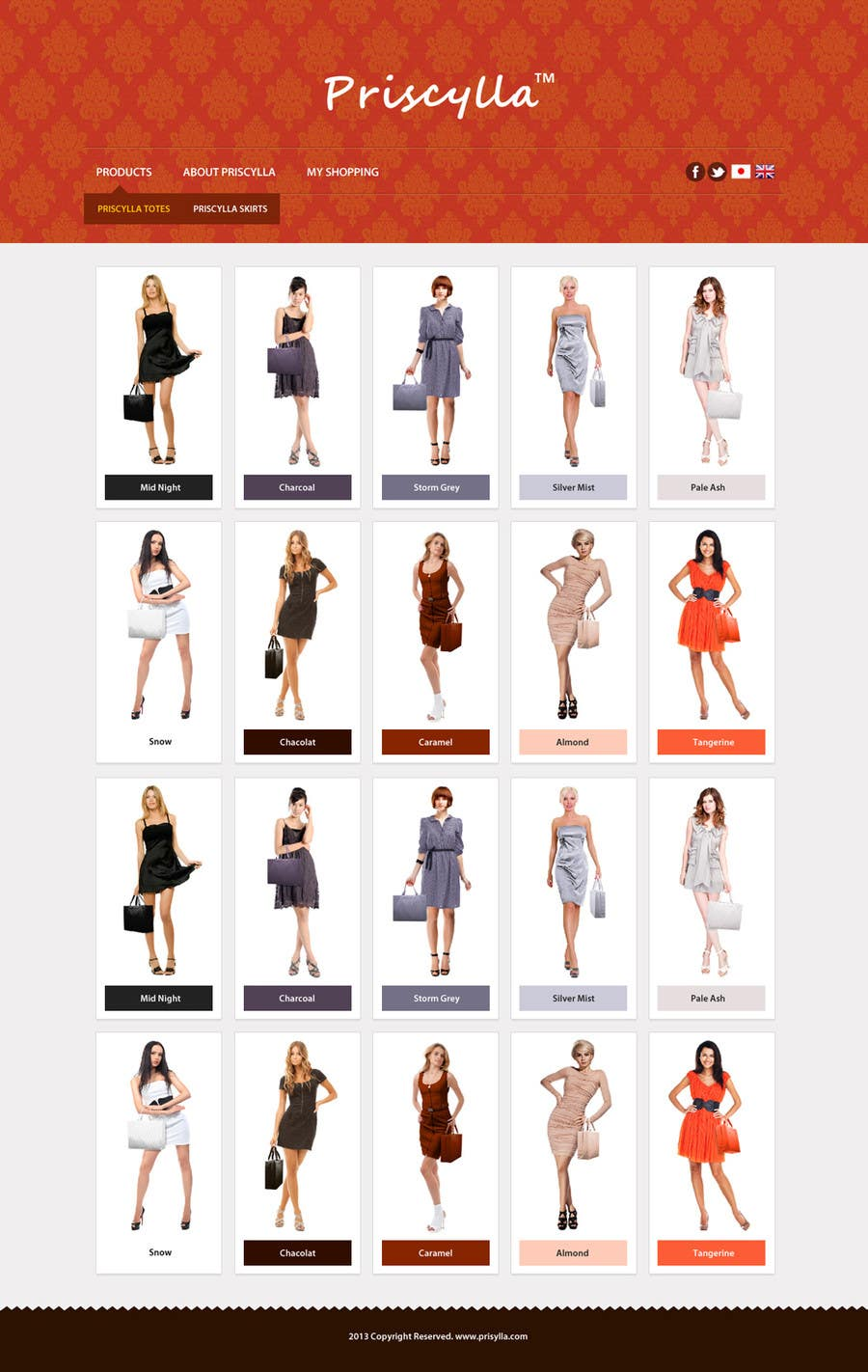 Proposition n°42 du concours Website Design for Women's Tote Bags