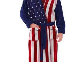 Nro 20 kilpailuun Design an American Flag Bathrobe käyttäjältä liakatlaiz