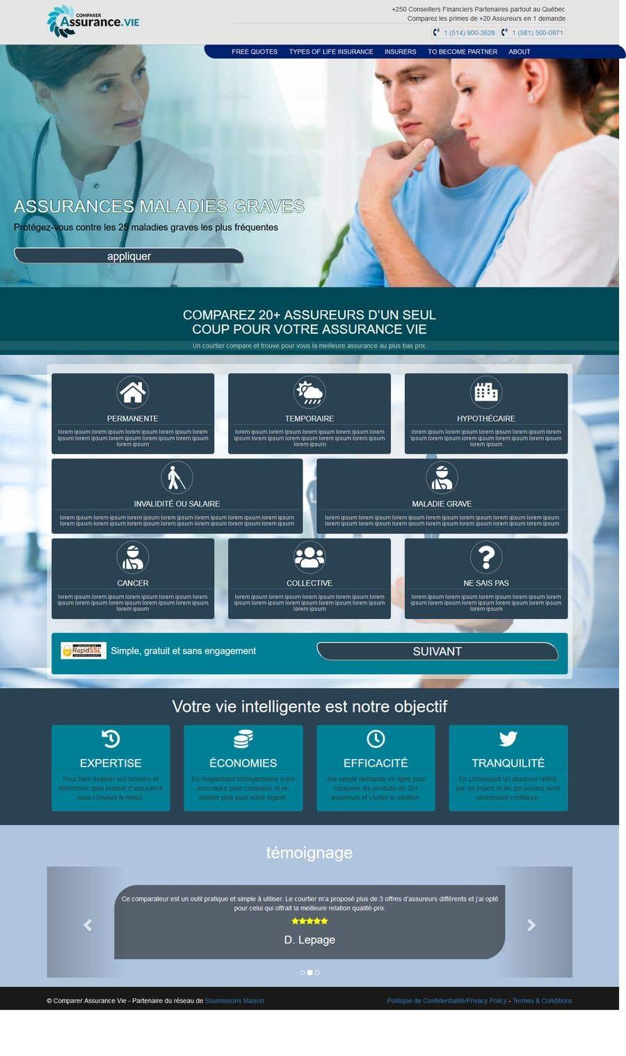 Bài tham dự cuộc thi #53 cho Redesign our main web page