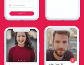 #46 for Redesign of dating app main page by Waliulah
