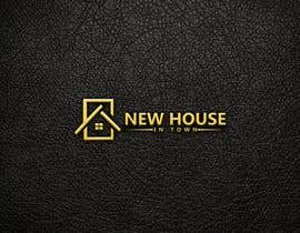 nº 303 pour New House In Town - Real estate agency logo par WebUiUxPro