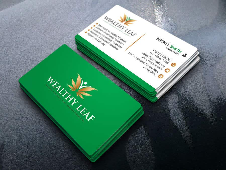 Proposition n°222 du concours Wealthy Leaf needs business cards