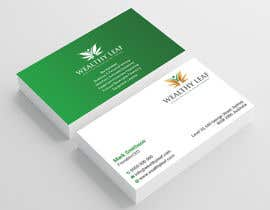 #270 for Wealthy Leaf needs business cards by Heartbd5