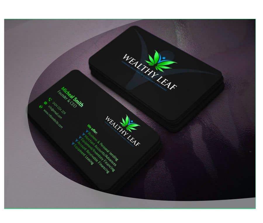 Proposition n°178 du concours Wealthy Leaf needs business cards