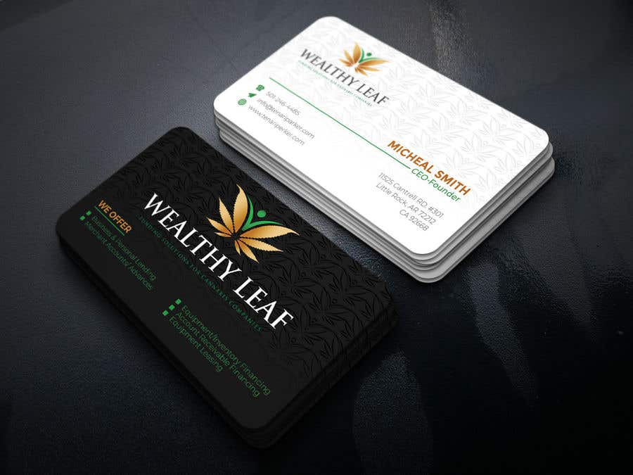 Proposition n°111 du concours Wealthy Leaf needs business cards