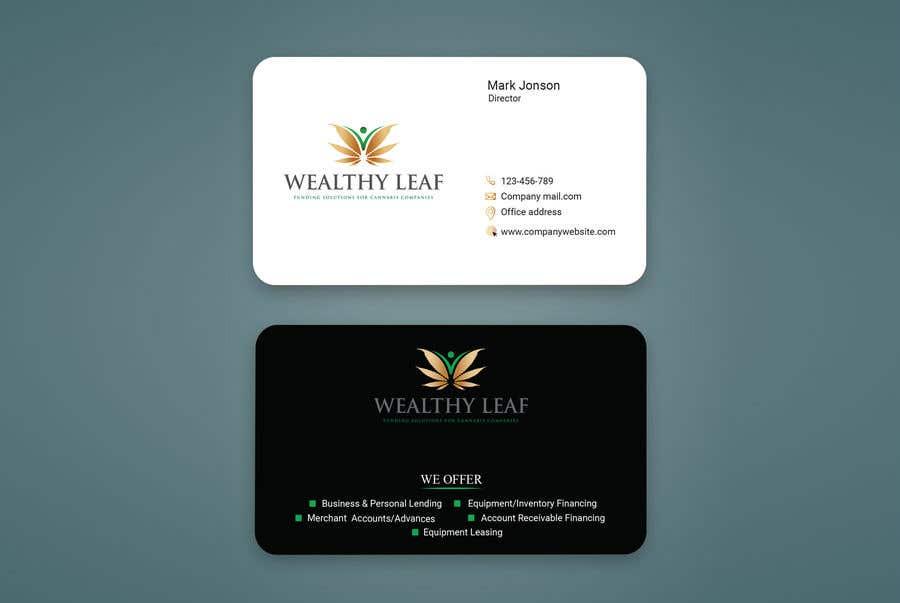 Proposition n°13 du concours Wealthy Leaf needs business cards