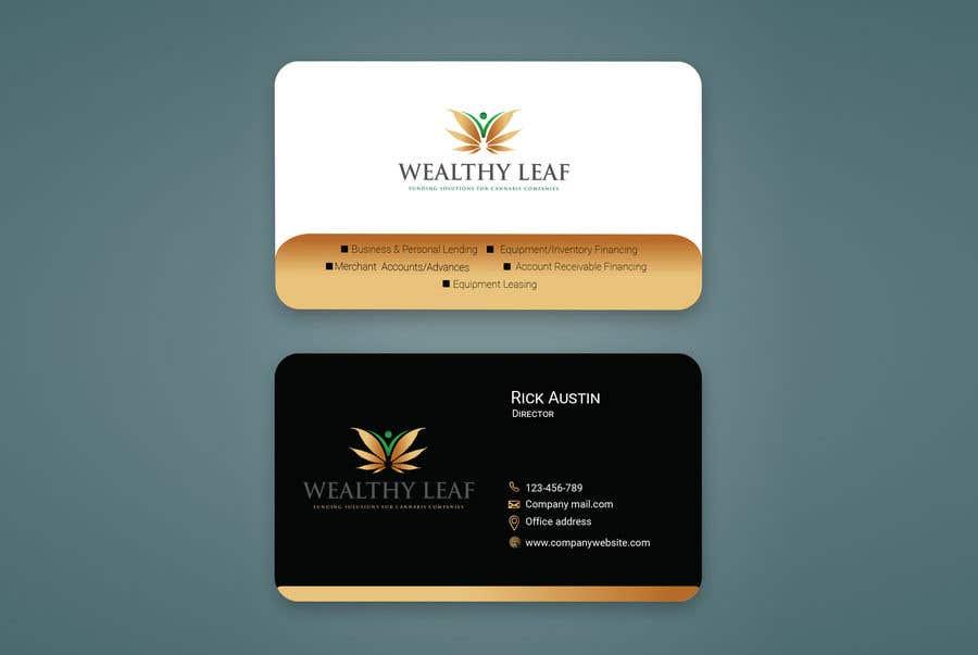 Proposition n°56 du concours Wealthy Leaf needs business cards