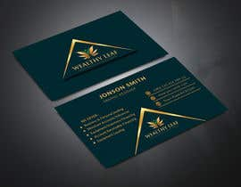 #266 for Wealthy Leaf needs business cards by NaharS888