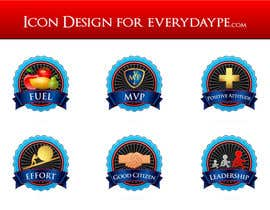#12 para Icon or Button Design for www.everydaype.com por raikulung
