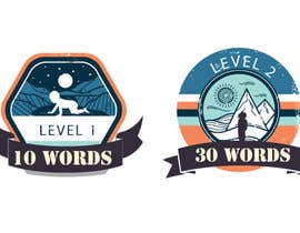 #36 for Design badges for an language learning platform by mehedibondhon