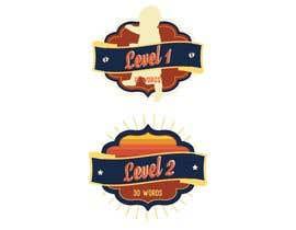 #16 untuk Design badges for an language learning platform oleh alohads