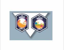 #7 untuk Design badges for an language learning platform oleh legalpalava