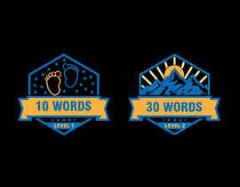 #39 para Design badges for an language learning platform de uzmaq74