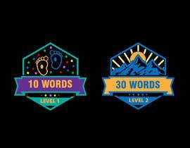 #41 para Design badges for an language learning platform de uzmaq74