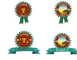 #10 untuk Design badges for an language learning platform oleh mrinmoymithun77