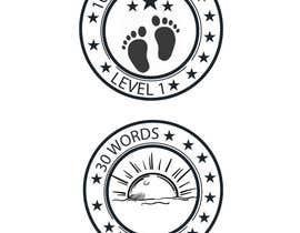 #12 untuk Design badges for an language learning platform oleh shimanto23