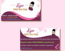 #37 для Need LOGO & BUSINESS CARD Design for a Salon от alaayassin90