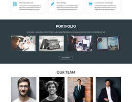 #46 for Create a design for a company website by raziul99