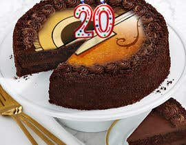 #55 for Cake image for 20 years of company af nurpixel