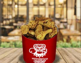 #42 untuk A logo designed for Bulldog Chicken oleh edosivira