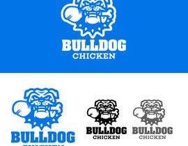 #44 untuk A logo designed for Bulldog Chicken oleh edosivira