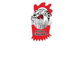 #48 untuk A logo designed for Bulldog Chicken oleh littlenaka