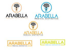 #171 cho Starting new medical aesthetics company. Want an elegant logo. colors primary gold, black, white. Clean look, but fancy and eye catching. Name is Arabella. Will need to have medical aesthetics incorporated. Maby even AraBella bởi giusmahmud