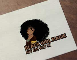 """#11 for Attached are previous design and also attached are examples of what I am looking for. In the new logo I want a black woman with the words """"BLACK GIRL MAGIC"""" in it. Also as said earlier it needs to have the brand name; """"HIT EM WIT IT"""" and """"HEWI"""". af Billdes"""