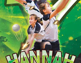#107 for Volleyball Sports Poster by CreativeView1