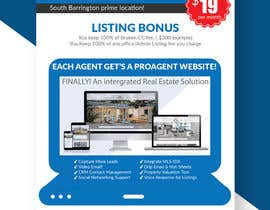 nº 128 pour Custom Flyer for Recruiting Real Estate Agents par piashm3085