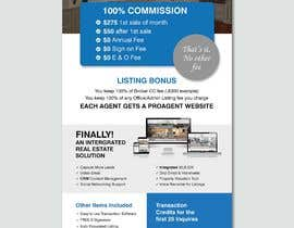 nº 114 pour Custom Flyer for Recruiting Real Estate Agents par ferisusanty