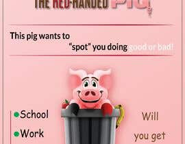 """kasunroxhome tarafından Enhance our Marketing Poster for our Red-Handed Pig product called """"THE SPOTTER"""" için no 30"""
