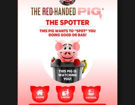"mtjobi tarafından Enhance our Marketing Poster for our Red-Handed Pig product called ""THE SPOTTER"" için no 29"