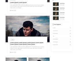 #33 for Need Blog website design (html) by agwanyasin