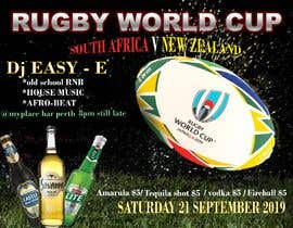 #9 for design a poster ( Rugby world cup ) south Africa vs af marioshokrysanad