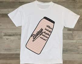 #24 for Print Logo for T-shirts (look upload file) af kbadhon781