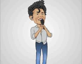 #10 for Celebrity as funny cartoon character by djamolidin