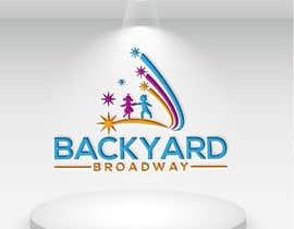 Nro 40 kilpailuun Backyard Broadway Logo käyttäjältä tahminaakther512