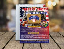 #30 for School Flyer - Treats for Troops & Collect for Vets af gopkselv19