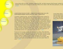 #9 untuk Mafia Game website homepage design oleh powderkola