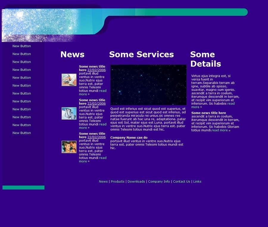 Penyertaan Peraduan #                                        8                                      untuk                                         Mafia Game website homepage design