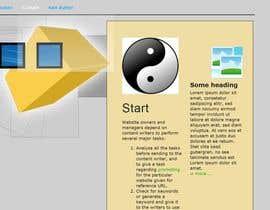 #11 untuk Mafia Game website homepage design oleh sumatraa