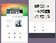 Graphic Design Entri Peraduan #2 for Mafia Game website homepage design