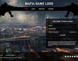 #15 untuk Mafia Game website homepage design oleh Ankur0312