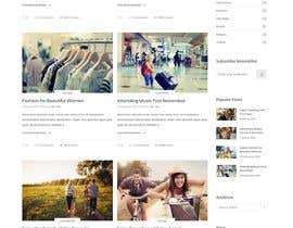 #8 для I need a website designer/writer to update an affiliate Marketing blog website от farabiislam888