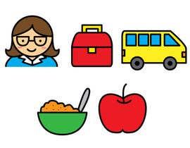 #15 for kindergarten web site icon illustrations by irishxdesigns