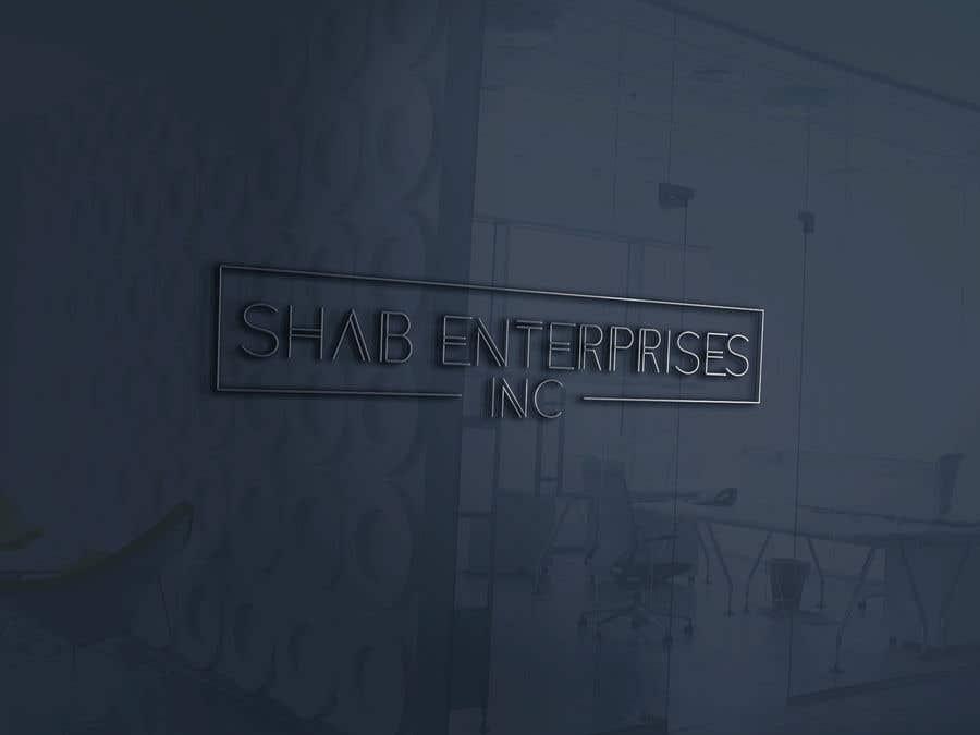 Penyertaan Peraduan #150 untuk Logo for Shab Enterprises, Inc.