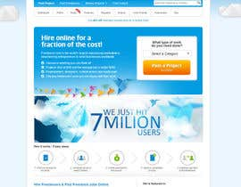 #93 for Banner Design for Freelancer.com homepage! by pixel11
