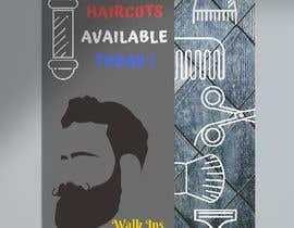 #5 untuk Graphic design A Frame Barber Shop oleh MaisarahNordin